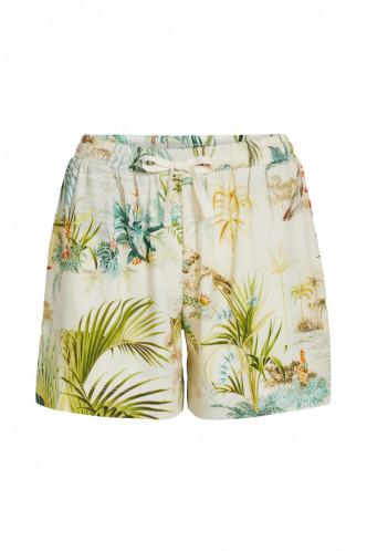 Abbildung zu Bob Woven Palm Scenes Trousers Short (51501109-112) der Marke Pip Studio aus der Serie Loungewear 2021