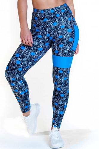 Abbildung zu Leggings high waist - dots (FN1275) der Marke Calao aus der Serie Fitness Fashion