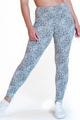 Abbildung zu Leggings high waist - zoo (FN1290) der Marke Calao aus der Serie Fitness Fashion