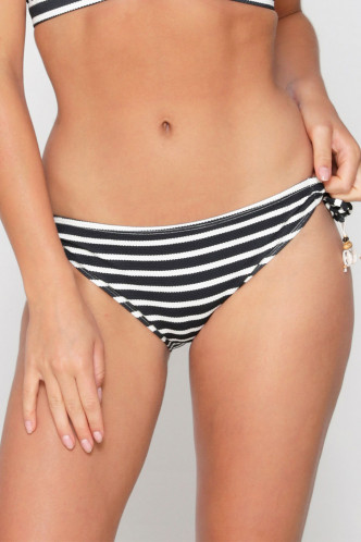 Abbildung zu Tie-Side Bikini-Slip (6101TSB) der Marke LingaDore aus der Serie Black and White