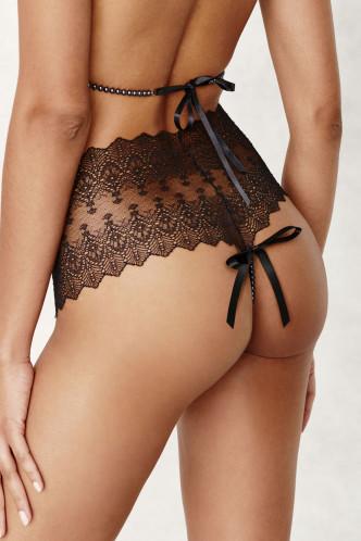 Abbildung zu Panty mit schwarzer Kette, hinten abnehmbar (2647) der Marke Bracli aus der Serie Geneva