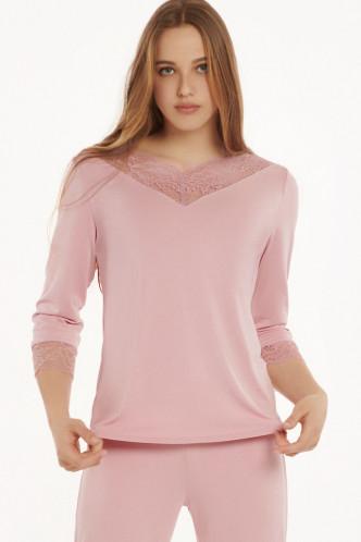 Abbildung zu Pyjama-Top, 3/4-Ärmel (23325) der Marke Lisca aus der Serie Isabelle