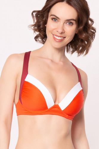 Abbildung zu Triangel-Bikini-Oberteil (5840972) der Marke Lidea aus der Serie Contrast