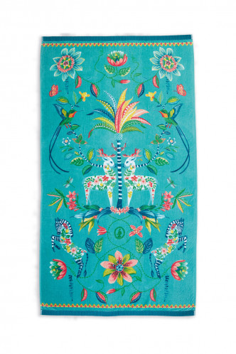 Abbildung zu Curio Beach Towel blau (217793) der Marke Pip Studio aus der Serie Accessoires