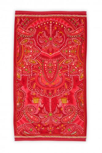 Abbildung zu Sunrise Palm Beach Towel red (198712) der Marke Pip Studio aus der Serie Accessoires