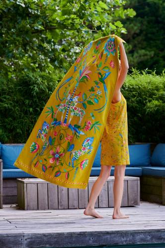 Abbildung zu Curio Beach Towel gelb (217792) der Marke Pip Studio aus der Serie Accessoires