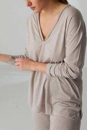 Abbildung zu Shirt langarm (19S903) der Marke Simone Perele aus der Serie Brume