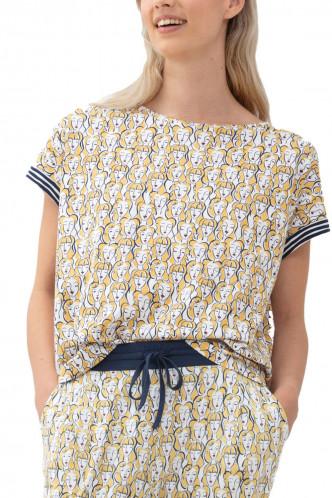 Abbildung zu Shirt kurzarm, goldenrod (16172) der Marke Mey Damenwäsche aus der Serie Serie Samantha