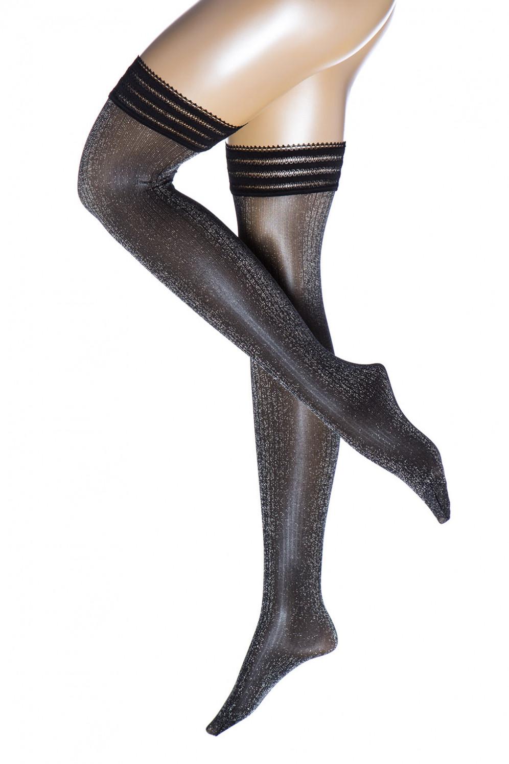 suche nach echtem neu kommen an exquisiter Stil Halterlose Strümpfe - LUREX RIB
