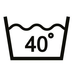 40° Wäsche