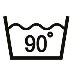 90° Wäsche